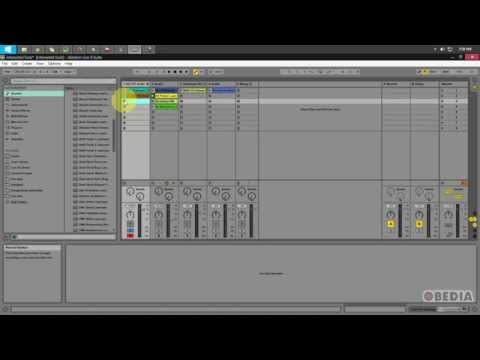 Ableton Live 9 - How to use Session Record with MIDI Overdub