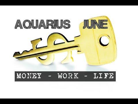 AQUARIUS JUNE 2018 MONEY-WORK-LIFE In-depth Tarot