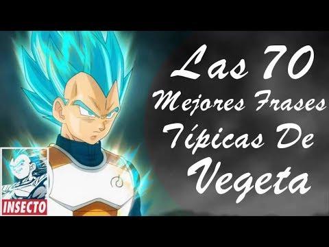 Las 70 Mejores Frases Típicas de Vegeta | El príncipe de los saiyajin | TheFelipe XtremYoutub