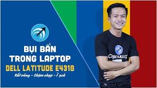 Dell Latitude E4310 - Hướng dẫn vệ sinh laptop Dell Latitude E4310  - Capcuulaptop.com