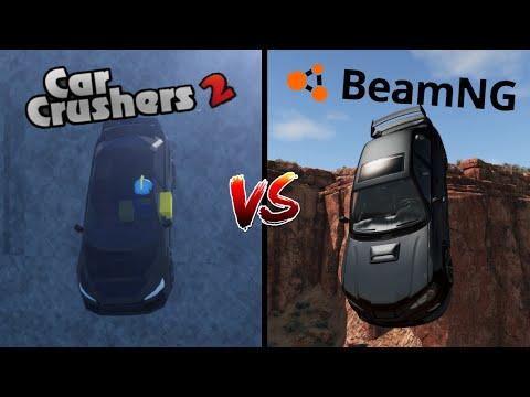 Car Crushers 2 VS BeamNG Drive