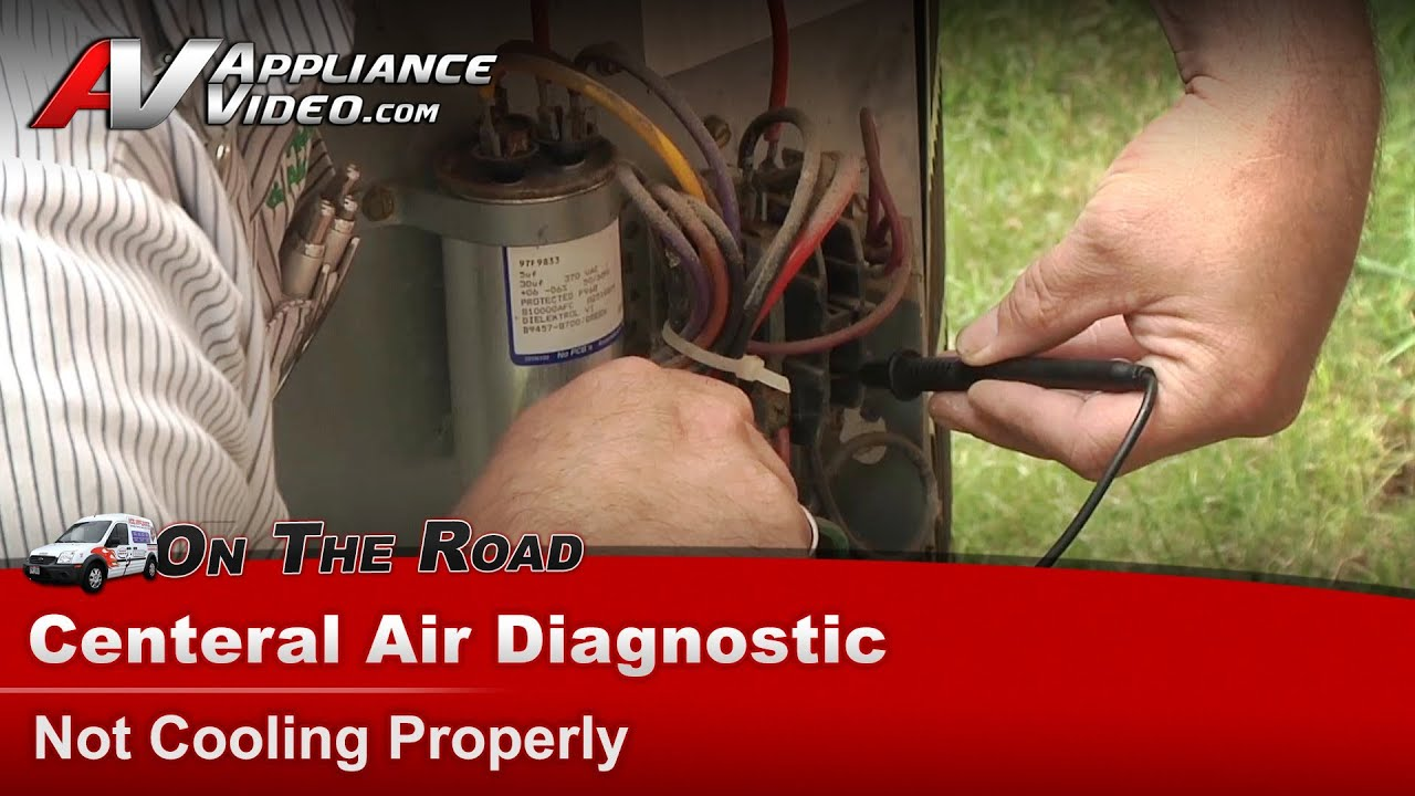 Janitrol Goodman Central Air Conditioner Diagnostic Not Wiring Diagram Cooling Properly