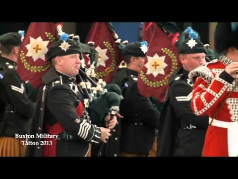 Buxton Military Tattoo 2013 - Drums and Pipes of The Irish Guards
