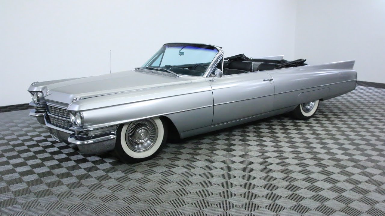 1963 CADILLAC COUPE DEVILLE - YouTube
