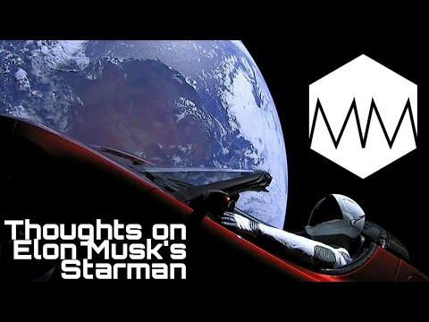 ▲ Elon Musk's Starman // Falcon Heavy Thoughts // [PARODY]