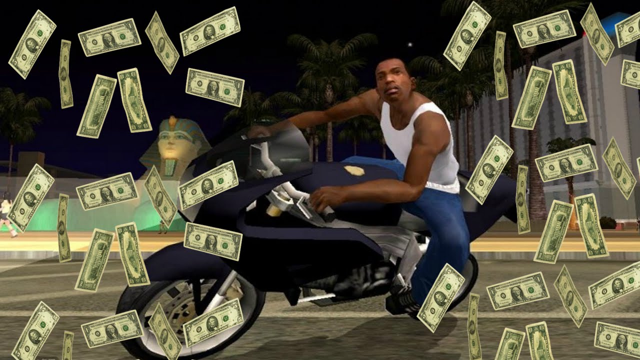 Unlimited Money In Gta San Andreas Without Cheat Or Hack   Youtube