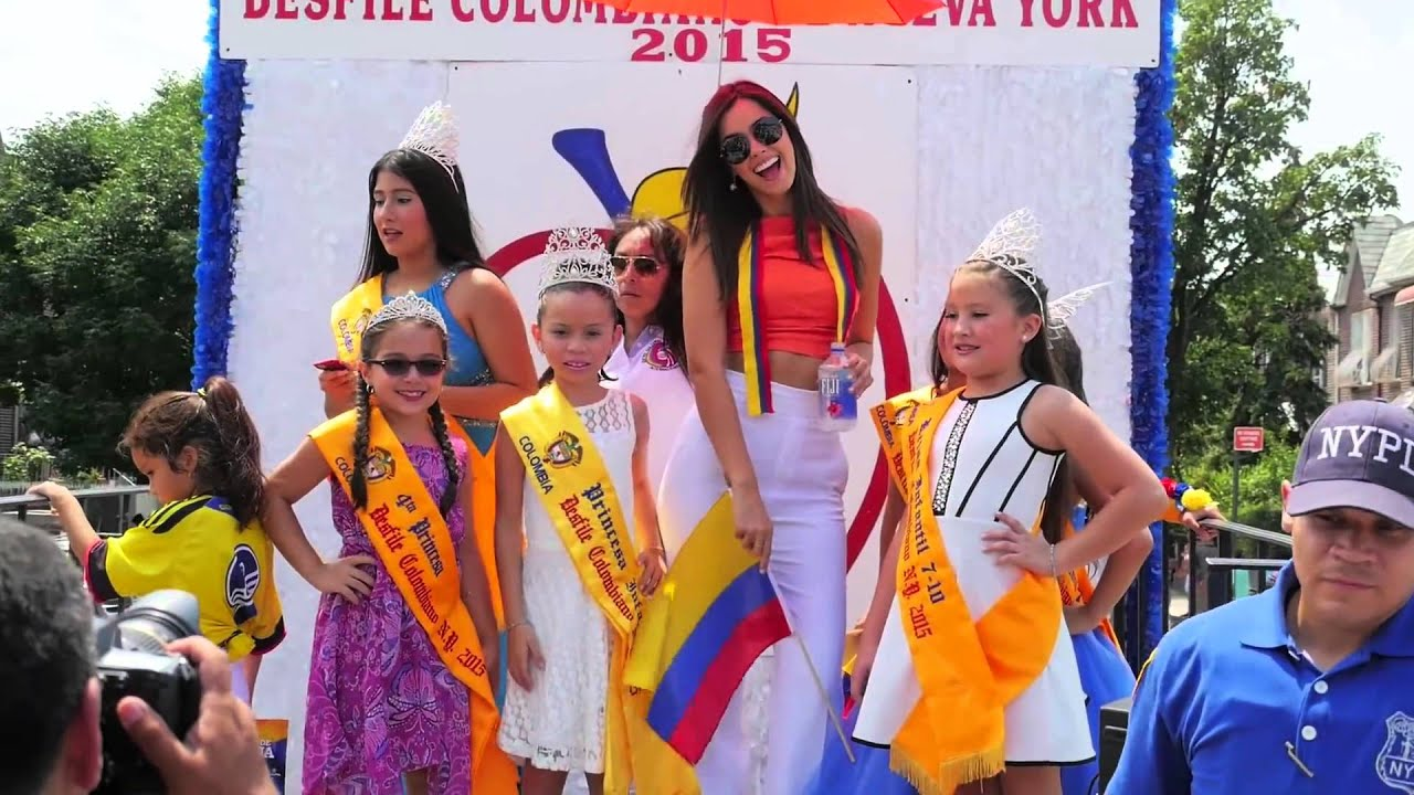 2015 Colombia Day Parade | NYC Colombian Independence Day Parade ...