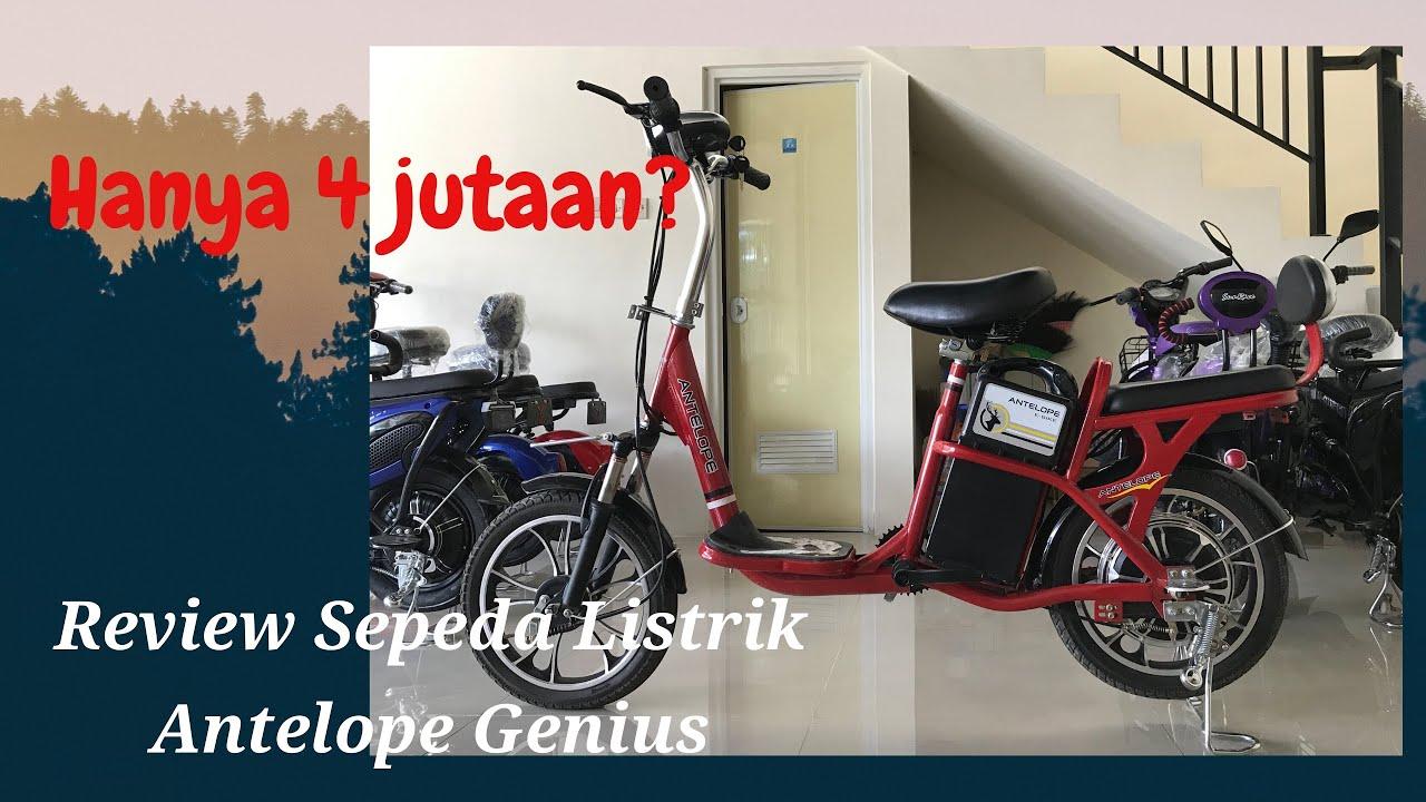 Review Sepeda Listrik Antelope Genius  Sepeda Listrik