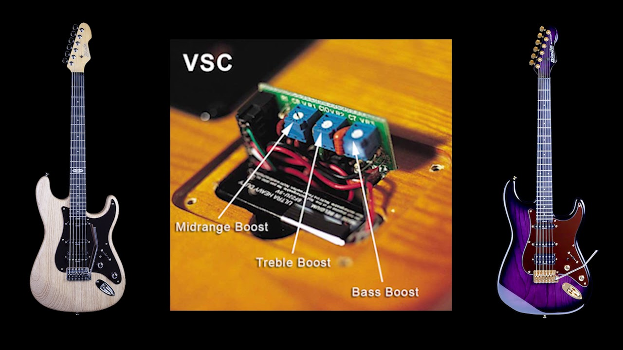 wiring control for guitars blade guitars vsc variable spectrum control youtube  blade guitars vsc variable spectrum