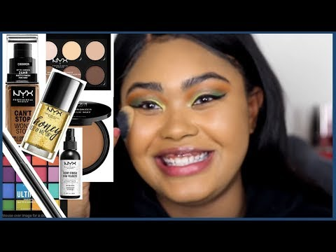 FULL FACE OF NYX MAKEUP....THESE MIGHT BE GAME CHANGERS | KennieJD