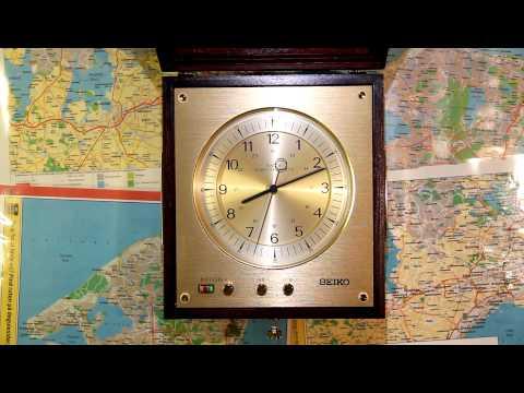 One minute on a Seiko QM-20 Marine Quartz Chronometer