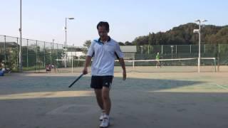 村山市民テニス大会 男子シングルス決勝 2014/10/12 その2
