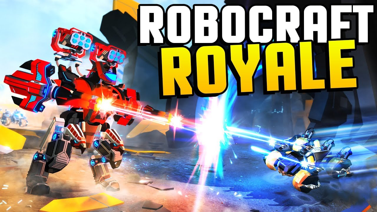 Robocraft Royale - NON-STOP INTENSE MECH ACTION! Robocraft ...