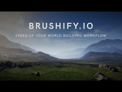 Brushify - Create A 64km²  Terrain In Unreal Engine 4 (Tutorial)