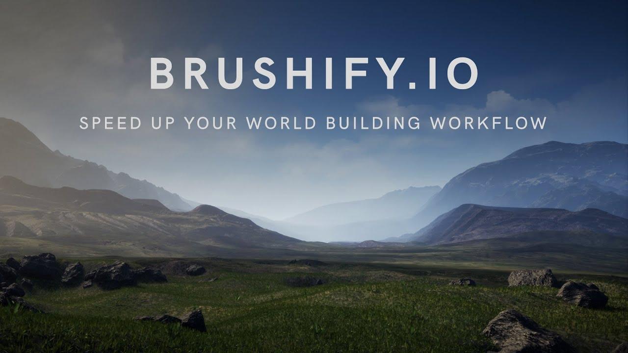 Brushify - Create a 64km² Terrain in Unreal Engine 4 (Tutorial)