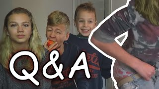 KLEDING OMWISSELEN & ONTMAAGD?! - Q&A met ZUS & BROERTJE!