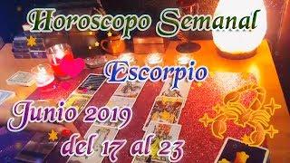 Escorpio,  Dinero, Amor y Suerte      del 17 al 23 de Junio