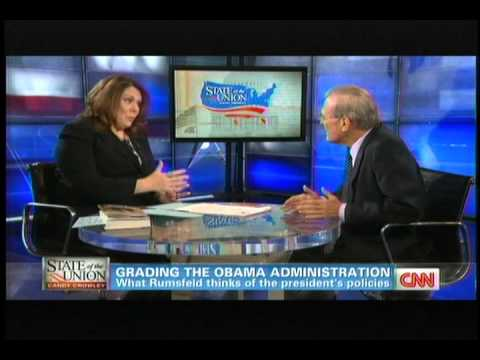 Rumsfeld-Obama's Made a Practice of Apologizing for America