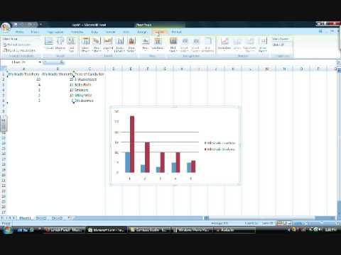 How to make  bar graph in excel also youtube rh