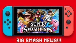 Big Smash Rumor: Emily Rogers Says Smash Bros Switch is Coming This Year & Christmas Release ?