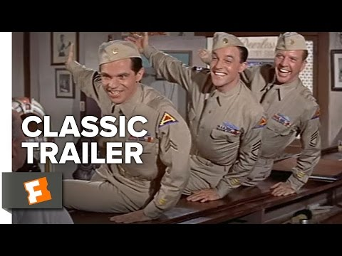 It's Always Fair Weather (1955) Official Trailer - Gene Kelly, Dan Dailey Musical HD