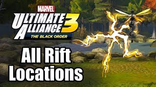 Marvel Ultimate Alliance 3: The Black Order - All Infinity Trials Rift Locations Guide