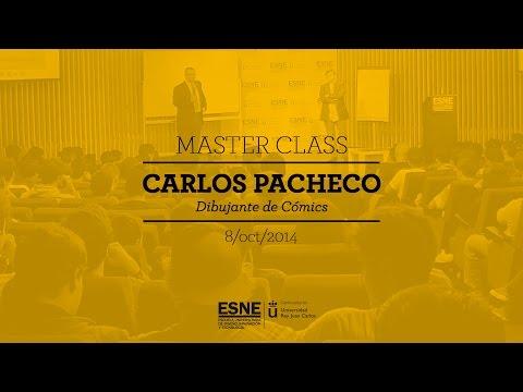 Master Class Carlos Pacheco, dibujante de Marvel Comics
