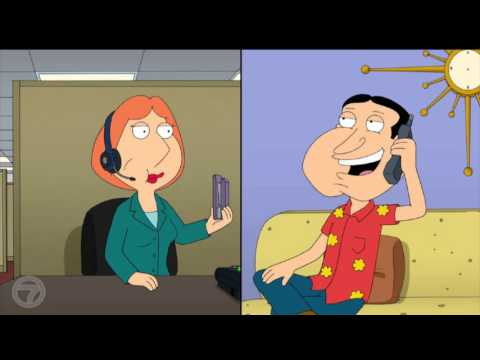 Family Guy Lois Gets A Job Working As A Phone Sex Operator
