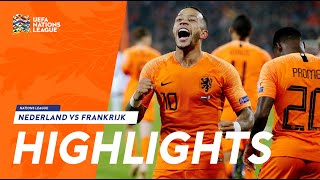 Highlights: Nederland - Frankrijk (16/11/2018) Nations League