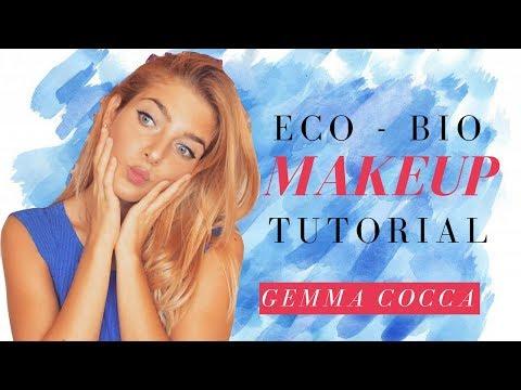 Makeup Tutorial con tutti prodotti ecobio e non testati sugli animali ( crueltyfree )