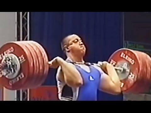 2004 European Weightlifting Championships, Men +105 Kg \ Тяжелая Атлетика. Чемпионат Европы