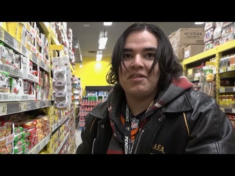 Meet a young First Nations man who's just aged out of foster care