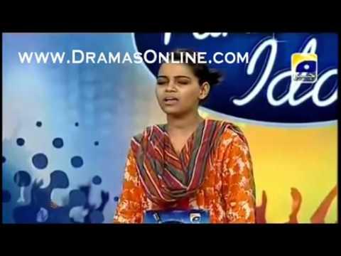 Pakistan idol Episode 7 Ghazal Ali Karachi Auditions Good singer