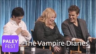 The Vampire Diaries - Matt Davis Kisses Paul Wesley's Wife