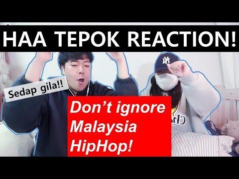"MeerFly-""HAA TEPOK""│Korean Family's Reaction!│말레이시아 힙합리액션!"