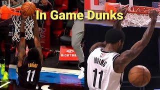 The Best Of Kyrie Irving Career Dunks | In Game Dunk Compilation |  Rare dunks 2011-2021 NBA Season