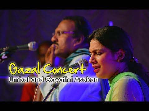 Gazal Concert by Umbai and Gayathri Asokan Part 1