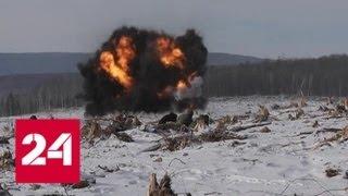 В Амурской области в районе схода оползня на реке Бурея введен режим ЧС - Россия 24