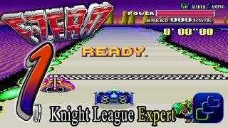 F-Zero SNES Playthrough - Gameplay Part 1 - Grand Prix Knight League on Expert (All 1st place)