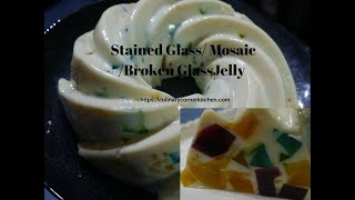 Mosaic/ Stained /Broken Glass jelly