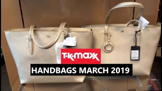 Tk maxx Handbags March 2019 | Anasthasia Style