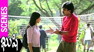 Pawan Kalyan Makes Fun Of Bhumika | Kushi Movie | Bhumika | SJ Surya | Mani Sharma