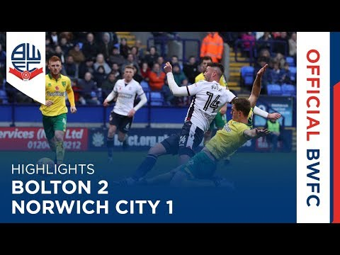 HIGHLIGHTS | Bolton 2-1 Norwich City