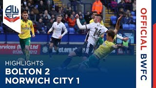 HIGHLIGHTS | Bolton 2-1 Norwich City