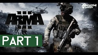 "Arma 3 Campaign Gameplay Walkthrough Part 1 ""DrawDown 2035"" [1080p 60FPS]"