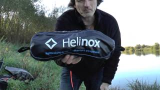 Helinox Outdoor Chair  Stuhl Review Vorstellung