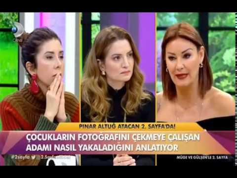 Pınar Altuğ Atacan'ın korku dolu anlar