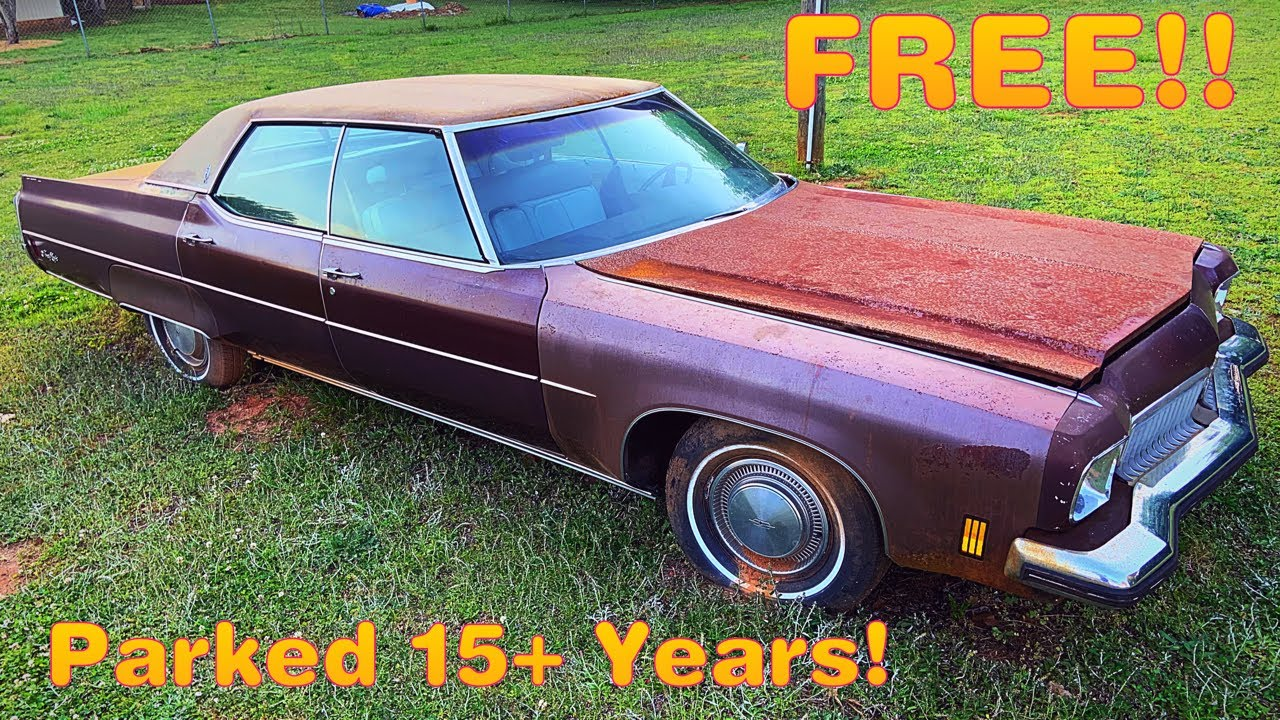Free FORGOTTEN Classic Oldsmobile Rescue: Will it Run and Drive after 15 Years?