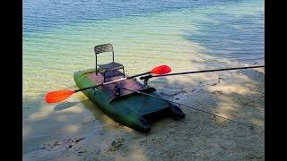 Испытание на море лодки Аквамаран НДНД 360
