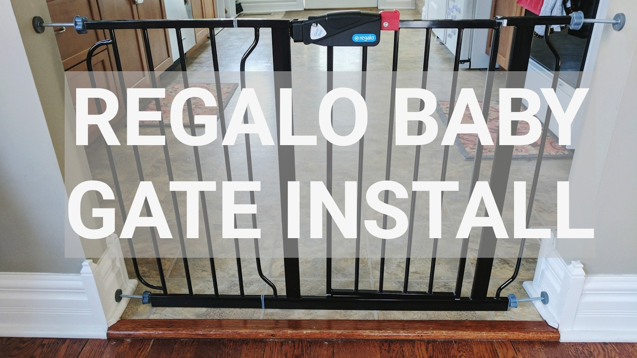 Fun Timelapse Regalo Baby Gate Install Not A How To Youtube